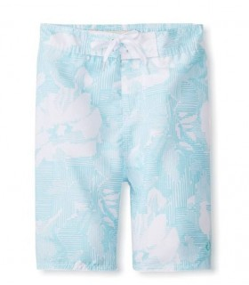 Boys Hang Ten Swim Trunks Ten Floral Blue