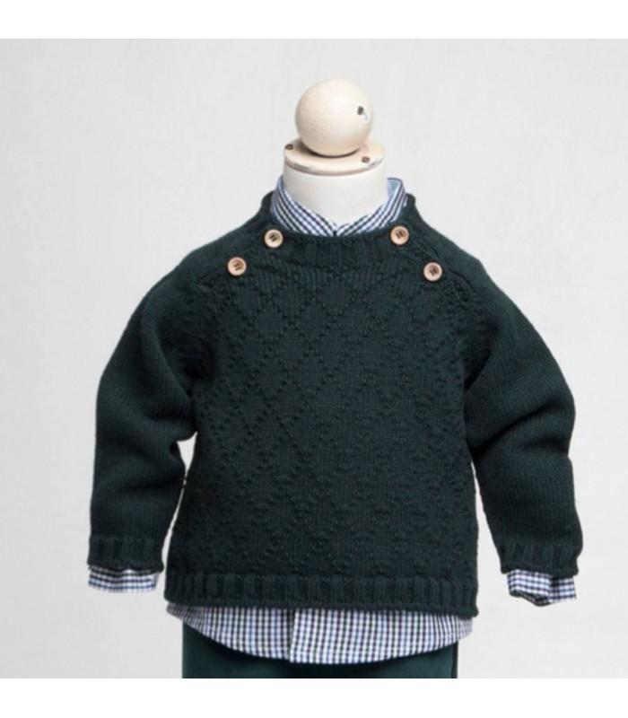 Jersey verde de Fina Ejerique
