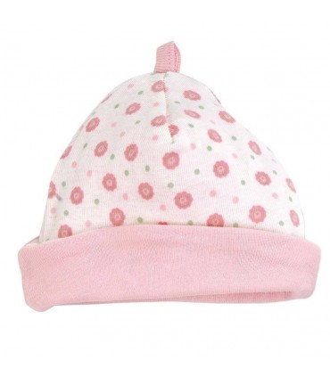 Baby reversible pink hat Under The Nile