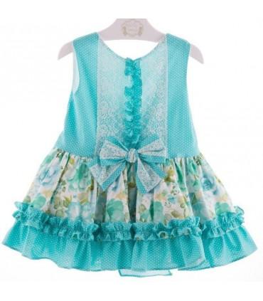 """Green dress """"Esmeralda"""" Marta Y Paula"""