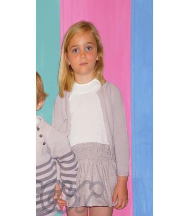 Girls set ANCAR: Dress and cardigan