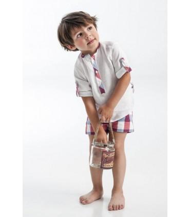 Conjunto niño pequeño cuadros José Varón