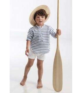 Blue stripes toddler set Jose Varon