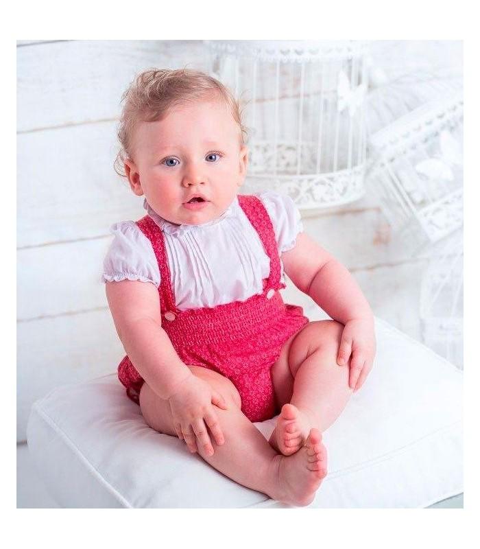 Peto rojo bebe BOSSA KIDS