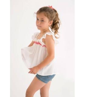 Blusa niña TOP CHA Nueces Kids