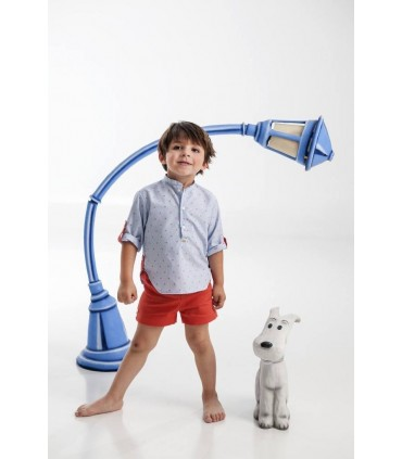 Coral toddler set Jose Varon