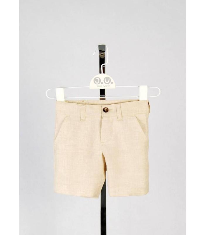 Shorts beige José Varón