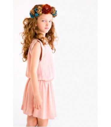 Robe rose Elena Nueces Kids