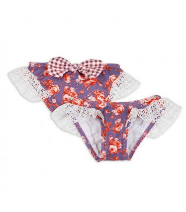 Ensemble bain fille bouquet ROCHY