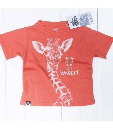 Giraffe T-shirt Lion of Leisure