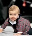Vestido polar Escocés bebe niña FOQUE