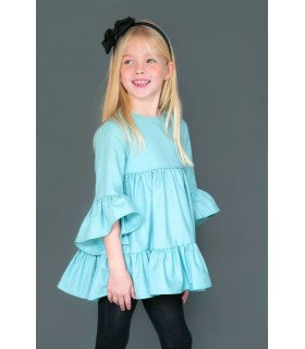 Girl dress Fabiola Nueces Kids MINT