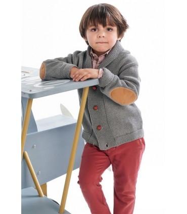 Cardigan gris petit garcon Jose Varon