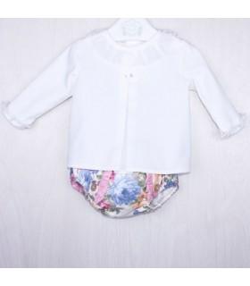 """Baby outfit """"FLORENCIA"""" MARTA Y PAULA"""
