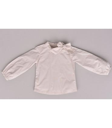 CESAR BLANCO girl´s Ivory blouse