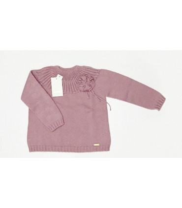 Jersey niña rosa de CESAR BLANCO