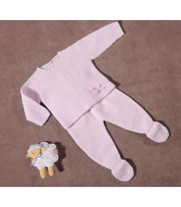 Pink baby girl set PIPOS