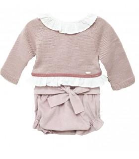 Baby pink set MARTA Y PAULA