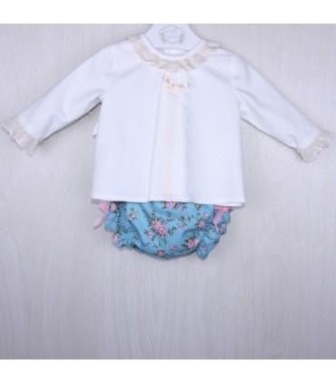 "Baby girl Outfit ""ROMA"" MARTA Y PAULA"