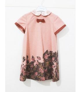 Vestido niña rosa colección FOQUE