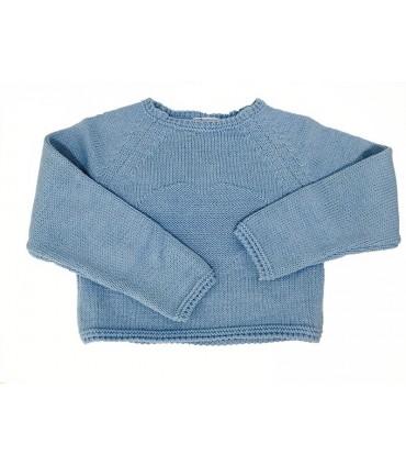 Jersey azul con corazón de ANCAR