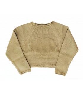 ANCAR girl camel sweater