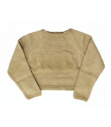 ANCAR girl camel sweater