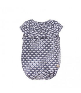 EVE CHILDREN BABY BLUE ROMPER