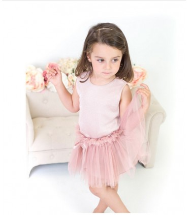 EVE CHILDREN PARTY PINK OUTFIT FOR GIRLS