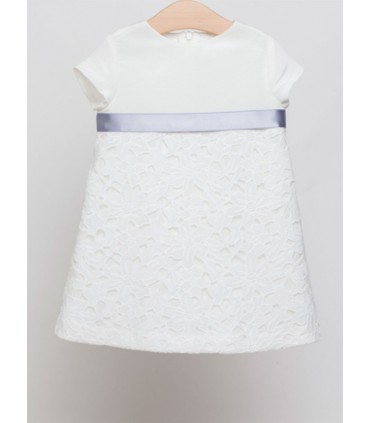 FINA EJERIQUE GIRL WHITE DRESS