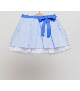 FINA EJERIQUE GIRLS BLUE SKIRT