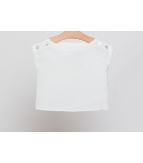 FINA EJERIQUE WHITE T-SHIRT FOR GIRLS