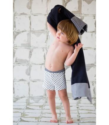 NUECES KIDS BOY STARS BOXER