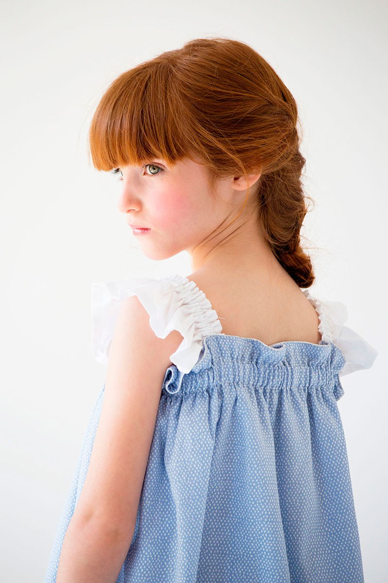 Nueces Kids Girls Blue Dress Quot Catalina Quot