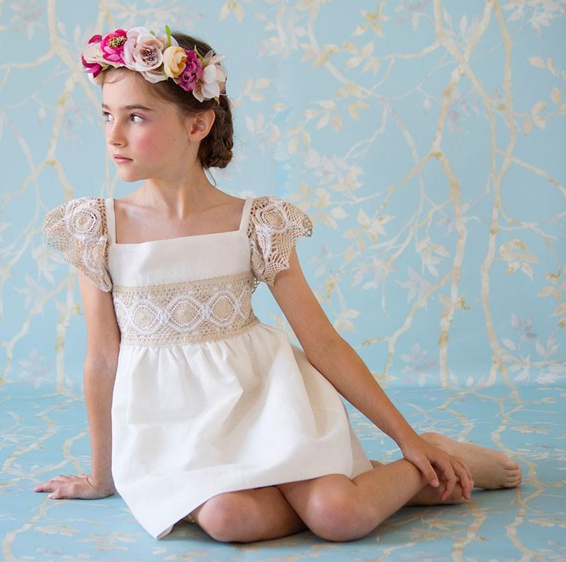 Nueces Kids Girls Line Dress Quot Andrea Quot Shop Girl Dresses