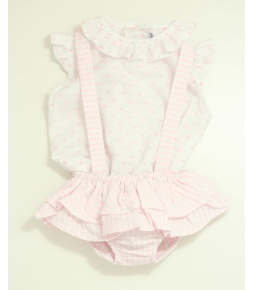 ANCAR BABY GIRLS PINK SET