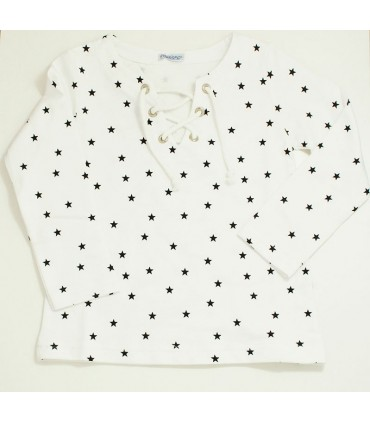 ANCAR SWEATER BLACK STARS