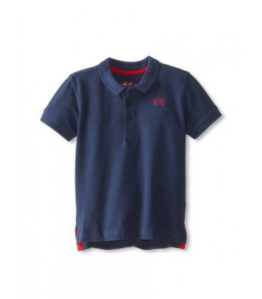 French Connection Navy Blue Boys Polo