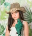 Vestido globo verde VALERIA de MANUELA MONTERO
