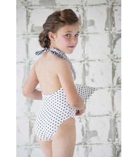 NUECES KIDS GIRLS STARS BATHING SUIT