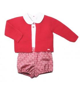 """MARTA y PAULA baby boy 3 pieces blue outfit """"ANCHORAGE"""""""