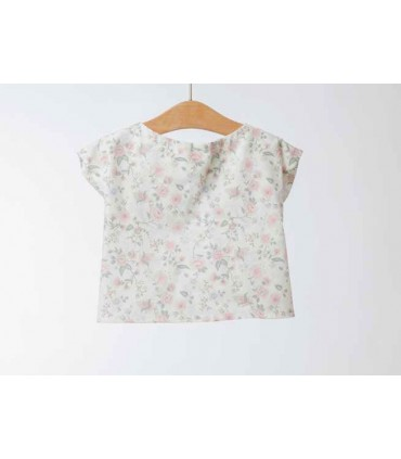 Fina Ejerique Girl Flowered Blouse