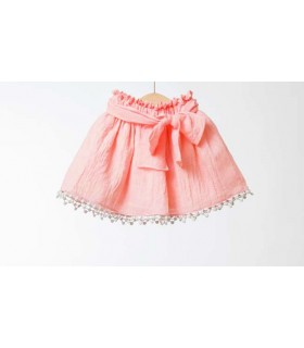 Fina Ejerique Girl Salmon Skirt