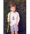 Fina Ejerique boy sweater Anchor