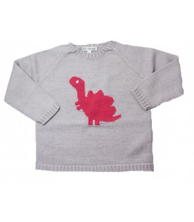 Fina Ejerique white sweater Dino
