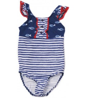 "JOSE VARON GIRL SWIMMING SUIT ""FISH"""