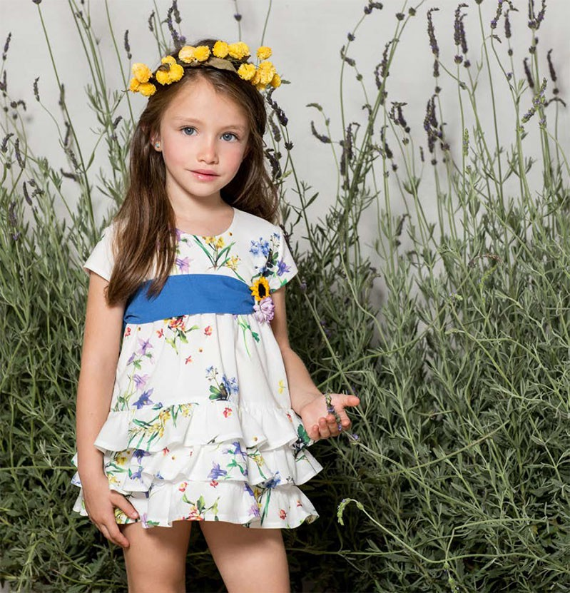 Pilar Batanero Little Girl Dress Quot Spring Quot Shop Girl