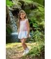 "CESAR BLANCO knitted girl dress ""AMARANTO"""