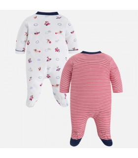 SET 2 PIJAMAS BEBE INTERLOCK MAYORAL
