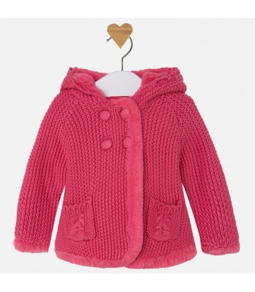 MAYORAL BABY GIRL PINK CARDIGAN